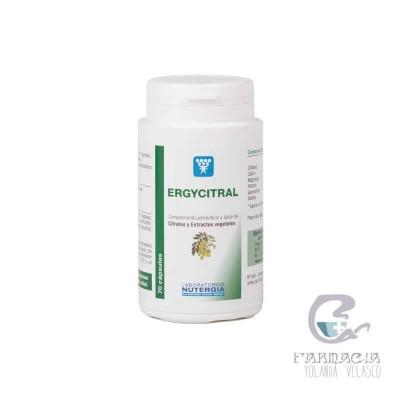 NUTERGIA ERGYCITRAL 70 CAPSULAS