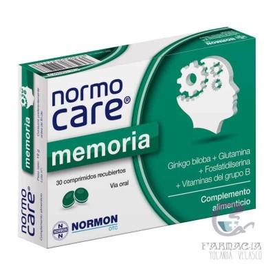 Normocare Memoria 30 Comprimidos Recubiertos