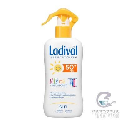Ladival FPS 50+ Niños y Pieles Atópicas Fotoprotector Spray 200 ml