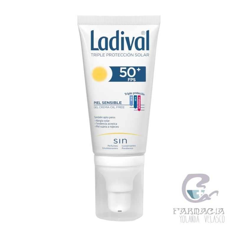Ladival Allerg Gel-Crema Facial FPS 50+ 50 ml