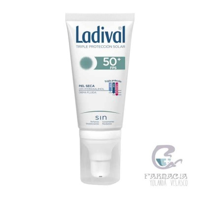 Ladival Facial Piel Seca FPS50 75 ml