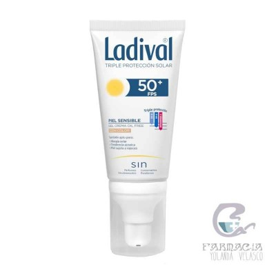 Ladival Allerg Gel-Crema Facial Color FPS 50+ 50 ml