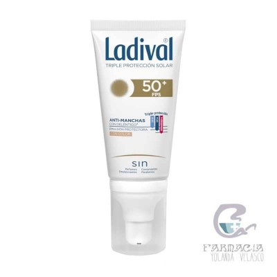 Ladival Acción Antimanchas FPS 50+ Emulsión Color 50 ml