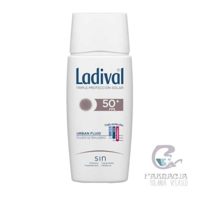 Ladival Urban Fluid FPS 50+ 50 ml