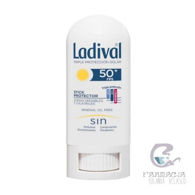 Ladival Stick Protector Zonas Sensibles FPS 50+ 9 g