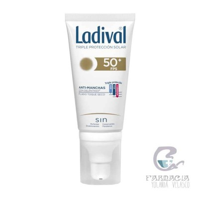Ladival Acción Antimanchas Toque Seco FPS 50+ 50 ml