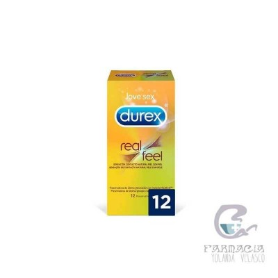 Durex Real Feel Sin Latex 12 Unidades