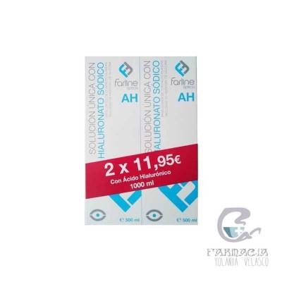 Solución Única Farline con Ac. Hialurónico Duplo 500 ml