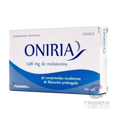Oniria 30 Comprimidos Recubiertos