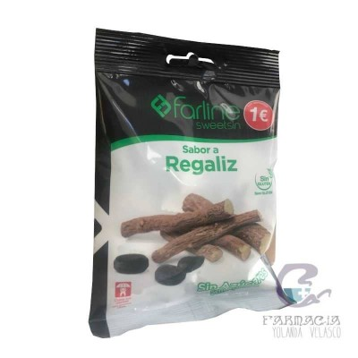 Farline Sweetsin Caramelos Regaliz Bolsa 40 gr