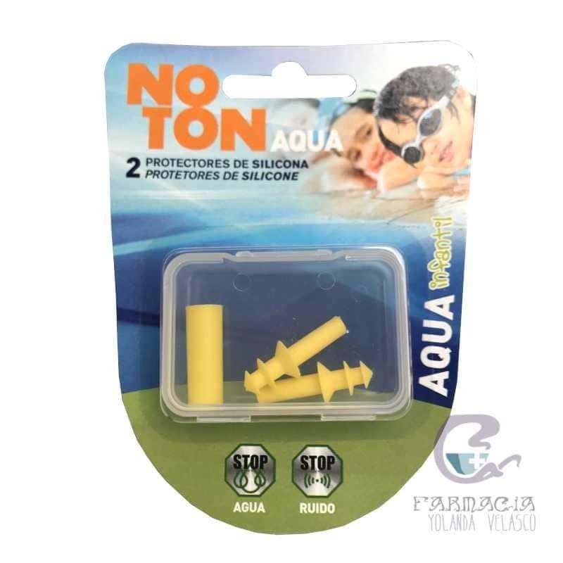 Tapones Oídos Silicona Noton Agua Infantil 2 Unidades