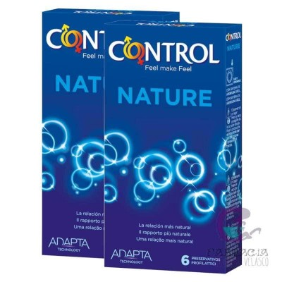 Control 2in1 Nature Preservativos 6+6 Unidades Pack Ahorro