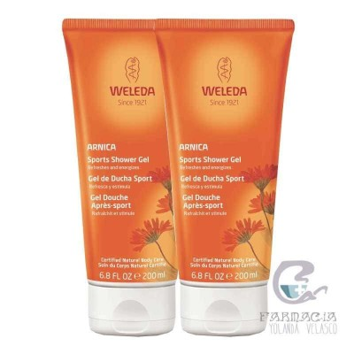 Weleda Pack Gel de Ducha Arnica 200 ml