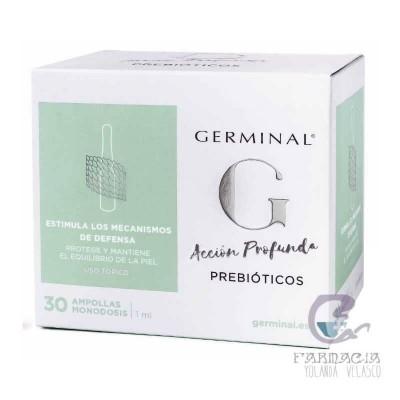 Germinal Acción Profunda Prebióticos 1 ml 30 Ampollas
