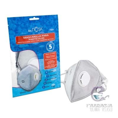 Mascarilla Nosk Adultos Protección Respiratoria FFP2 1 Unidad