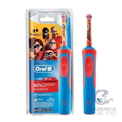 Oral-B Cepillo Eléctrico Infantil Los Increibles