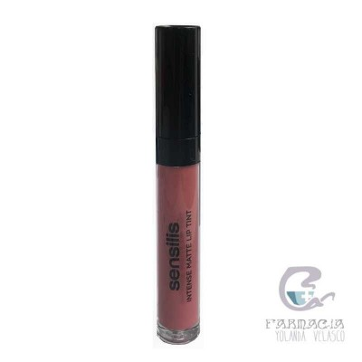 Sensilis Intense Matte Lip Tint 4,5 ml 06 Cocoa