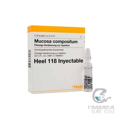 Mucosa Compositum 5 Ampollas 2,2 ml Heel