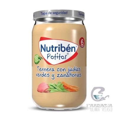 Nutriben Ternera Con Judías Verdes y Zanahorias Potito 235 gr