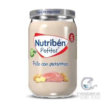Nutriben Pollo Con Patatitas Potito 235 gr
