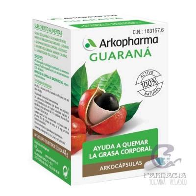 Arkopharma Guaraná 84 Cápsulas