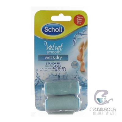 Recambios Dr Scholl Velvet Smooth Lima Pies Wet & Dry