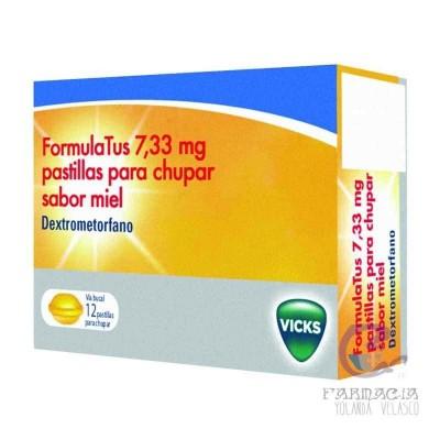 Formulatus 7.33 mg 12 Pastillas Para Chupar