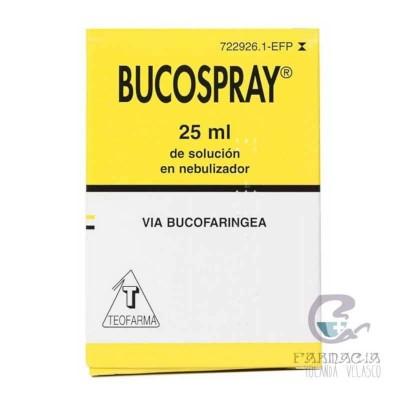 Bucospray Aerosol Tópico 25 ml