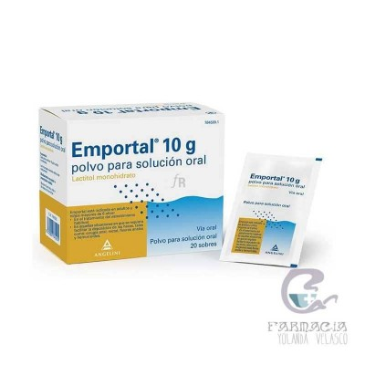 Emportal 10 g 20 Sobres Polvo Solución Oral