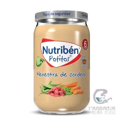 Nutriben Recetas Tradicionales Menestra de Cordero Potito 235 gr
