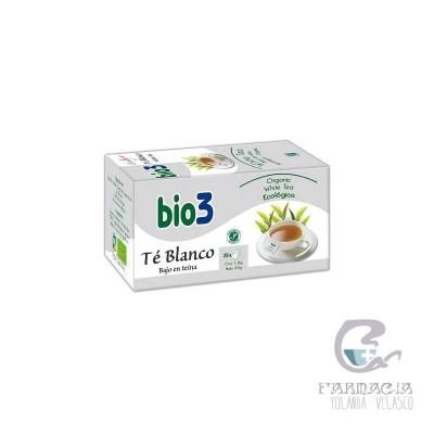 Bio3 Té Blanco 2 g 25 Filtros