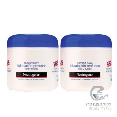 Neutrogena Comfort Balm Hidratación Profunda Cara y Cuerpo 2x300 ml