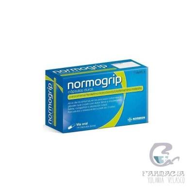 Normogrip 500/4/10 mg 14 Cápsulas (AL-PVCD/PVC)