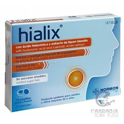 Hialix 24 Pastillas