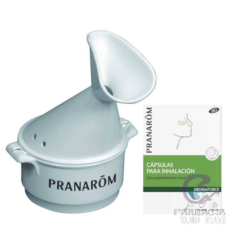 Pranarom Cápsulas Inhalación Nasal + Inhalador