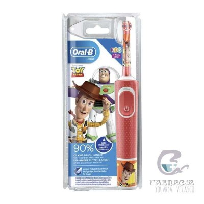 Cepillo Eléctrico Infantil Oral-b Stages Toy Story