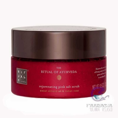 Rituals Ayurveda Rejuvenating Pink Salt Scrub 300 gr