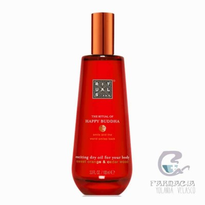 Rituals Happy Buddha Exciting Dry Oil For Your Body 100 ml