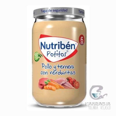Nutriben Pollo y Ternera con Verduritas Potito 235 gr