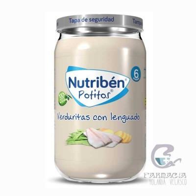 Nutriben Verduritas Con Lenguado Potito 235 gr