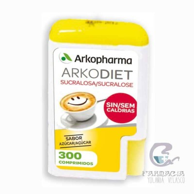 Sucralosa Arkodiet 300 Comprimidos