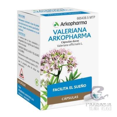 Valeriana Arkopharma 350 mg 84 Cápsulas