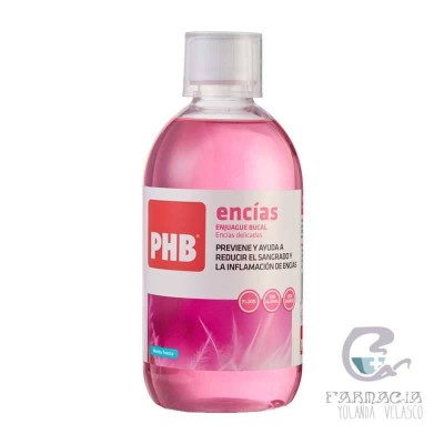 PHB Encías Enjuague Bucal 500 ml