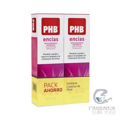 PHB Duplo Pasta Encías 2x75 ml