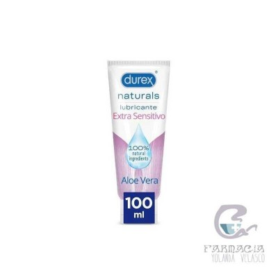 Durex Naturals Intimate Gel Extra Sensitivo 100 ml