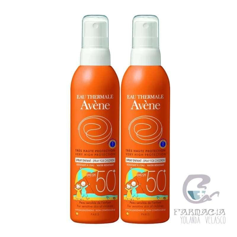 Avene Duplo Spray 50+ Infantil 2x200 ml