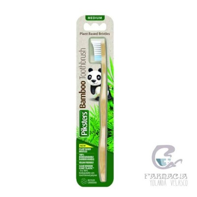 Cepillo Bamboo Premium Medio