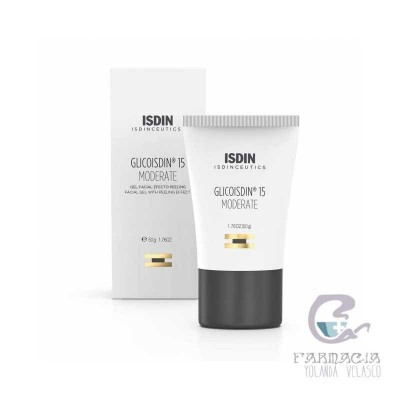 GlicoIsdin Gel Facial Antiedad 15% Glicólico 50 ml