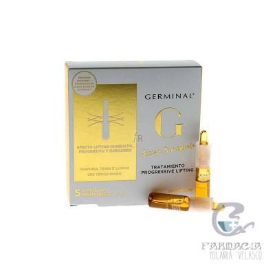 Germinal Acción Inmediata Tratamiento Lifting Progressiv 5 Ampollas