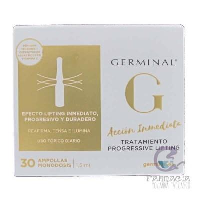 Germinal Acción Inmediata Tratamiento Lifting Progressiv 30 Ampollas